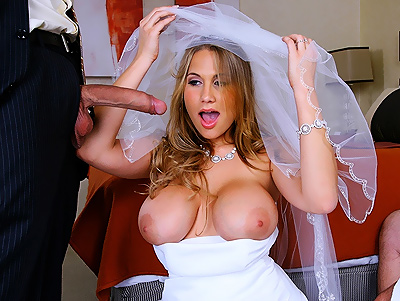 You may fuck the bride