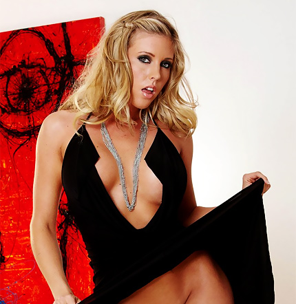 Samantha Saint red painting