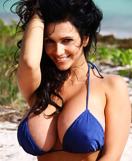 Think, that Denise milani hot act naked read
