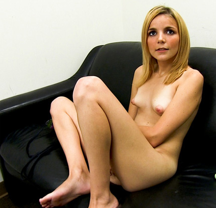 Backroom facials tiny blonde