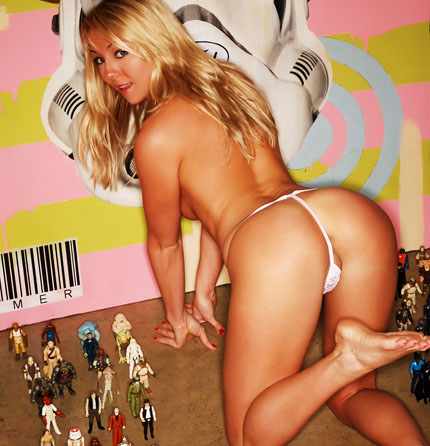 Brooke marks starwars panties