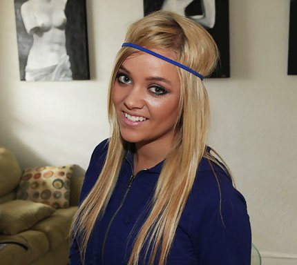 Gfrevenge blonde headband