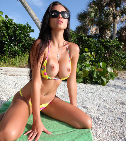 Janessa brazil yellow beach