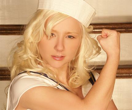 Sexy pattycake sailor